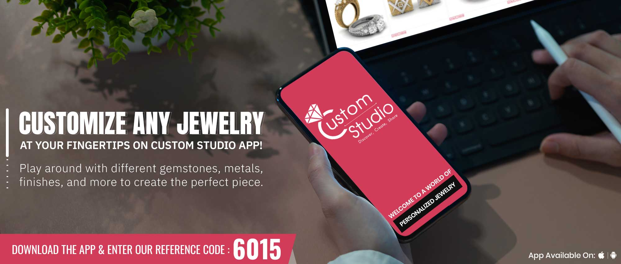 Custom Studio App Available At Midtown Jewelers At Midtown Jewelers