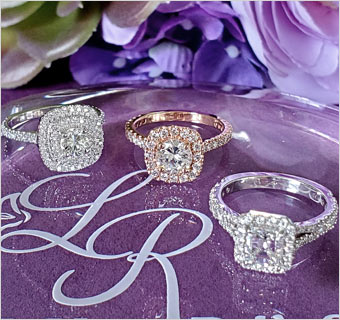 LILY ROSE DIAMOND RINGS at Midtown Jewelers